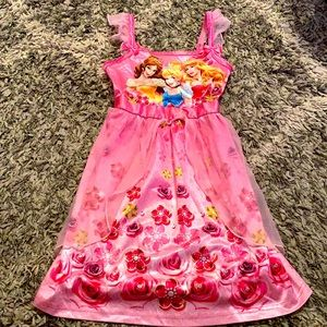 Disney princess pajama night gown